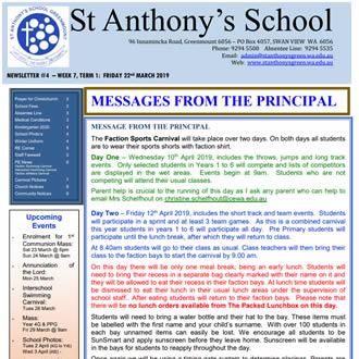 Newsletter 2019 – 04
