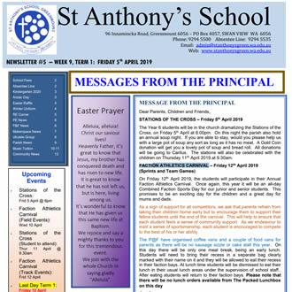 Newsletter 2019 – 05