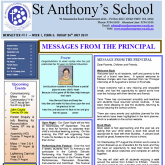 Newsletter 2019 – 11