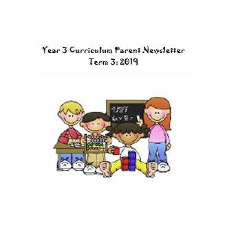 Year 3  Curriculum Update