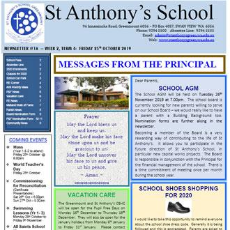 Newsletter 2019 – 16