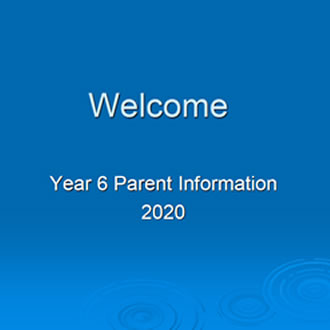 Year 6 Parent Information