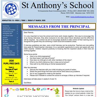 Newsletter 2020 – 03