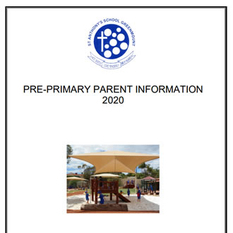 Pre Primary Parent Information