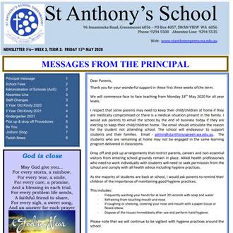 Newsletter 2020 – 06
