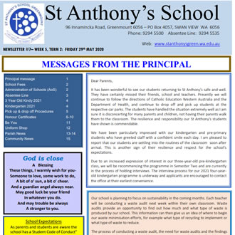 Newsletter 2020 – 07