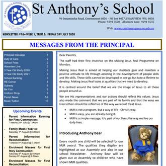 Newsletter 2020 – 10