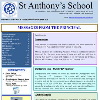 Newsletter 2020 – 16