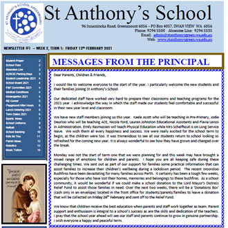 Newsletter 2021 – 01