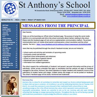 Newsletter 2021 – 03