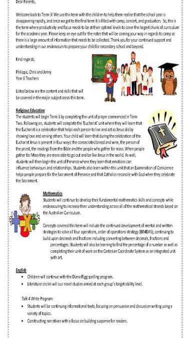 Year 6 Curriculum Overview Term 3